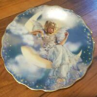 4 plates RECO HEAVEN'S LITTLE STAR Sandra Kuck BRADFORD Exchange