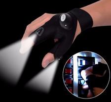 Right LED Light Finger Lighting Flashing Outdoors Repair Work Hiking Gloves Hot