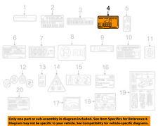 MERCEDES OEM 17-18 E300 Labels-Label 2135848604
