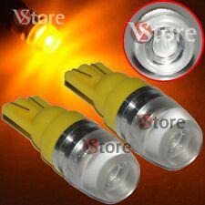2 Led T10 Lámparas 2 SMD 5630 Luces AMARILLO Lente Ubicación