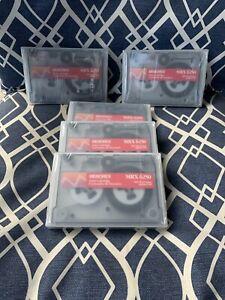 Memorex 6250 Data cartridges 250 MB Pack Of 5 Each Sealed Box