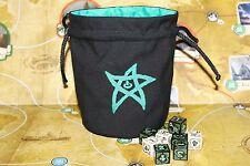 Cthulhu 'Elder Sign' Dice Bag in 'Green'
