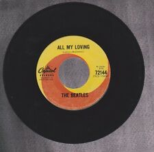 THE BEATLES  ALL MY LOVING B/W THIS BOY  RARE CANADIAN CAPITOL SWIRL LABEL 45