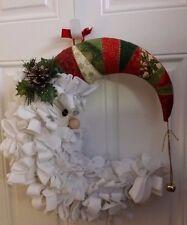 Hand Made Santa Moon Door Hanger RARE Custom True Collectors Item