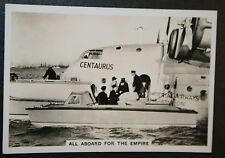 Imperial Airways   Empire Flying Boat  Southampton   Vintage Photo Card  VGC