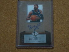 Malcolm Lee 2012 Leaf Limited Autograph Card #72/399