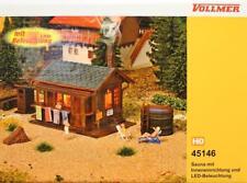 Vollmer 45146 ( 5146 ) H0 - Sauna mit Zubehör  NEU & OvP