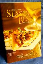 Pampered Chef Season's Best Reciepe Collection Cookbook Fall/Winter 2006