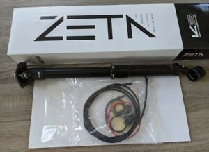 KS ZETA Remote DROPPER W/CARBON Remote & Intern Cable 31.6Mm 420Mm 35MM travel