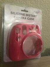 Instax Instant Camera Silicone Case For INSTAX MINI 8 & 9  - Pink *NEW*
