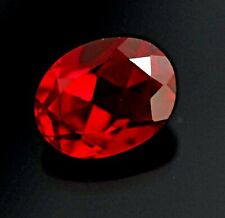 Loose Natural Earth Mined Burma Ruby Oval Cut Gem Lovely Piece 5.65Cts Certified