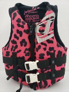 JetPilot MVP Pink Wake Boarding Vest Life Jacket Women's X-Small