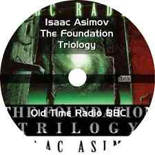 * ISAAC ASIMOV THE FOUNDATION TRILOGY OLD TIME RADIO BBC * OTR 8 PARTS MP3 CD *
