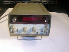 HP 5300A WITH 5302A  50 MHz COUNTER TESTED GOOD