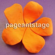 Super Stretch Flower for National Pageant Dress ORANGE