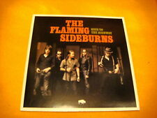 Cardsleeve Full CD THE FLAMING SIDEBURNS Keys To The Highway PROMO 12TR 2007
