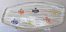 Vintage Italian design tray ceramic SIC Italy 1960s period Antonia Campi style