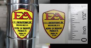 Cushman, Schwinn  E A Laboratories sticker-decal