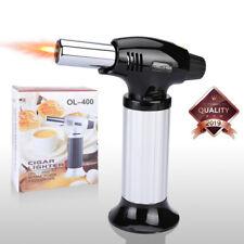 Refillable Butane Micro Mini Cigar Adjustable Torch Lighter Soldering Welding