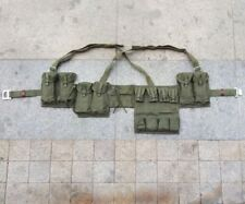 Military Surplus Chinese Type 63 Rifle Combat Webbing Bandolier Gear Pouches