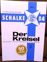 FC Schalke 04 + 50 Jahre Jubiläum Schalker Kreisel Magazin + Sonderausgabe /436