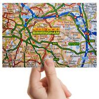 "Photograph 6x4""  - Birmingham England Travel City UK Map  #44284"