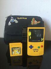 Nintendo GameBoy Color Edition Collector Pokemon Jaune Pikachu + Pokemon Jaune