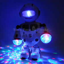Toy Robot Kids Robot Dancing Lights Music Toy Birthday Gift Boys Toy xmas Regalo