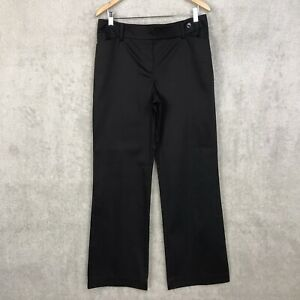 Ann Taylor Curvy Pants Size 10 Womens Through Hip Thigh Boot Leg Black