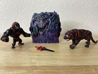 Masters of the Universe MOTU Snake Mountain Anti Eternia Black HEMAN MINI CUSTOM
