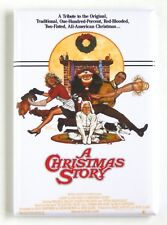 A Christmas Story FRIDGE MAGNET (2 x 3 inches) movie poster