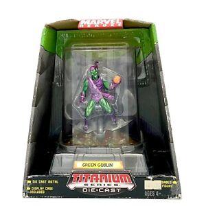 2006 Hasbro Marvel Heroes GREEN GOBLIN Titanium Die Cast MicroMachines NIP