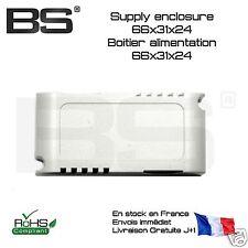 Boitier alimentation miniature 66x31x24 power supply LED supply enlosure DIY