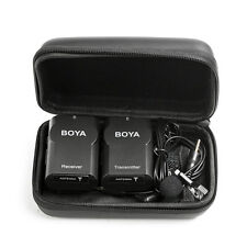BOYA BY-WM4 Wireless Condenser Lavalier Microphone for Canon Nikon Camera Phone