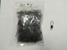 300 size 5 nickel black snaps