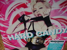 MADONNA HARD CANDY COLORED VINYL + SINGLE + CD LIMITED EDITION 2008 LP SET ISSUE
