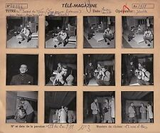 L. Visconti Jean Marais Annie Girardot Pl. Contact + Neg.  Original Vintage 1958