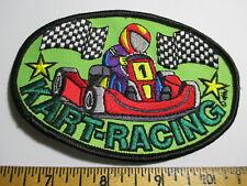 New listing Kart-Racing Patch Go-Cart Vintage Original NOS 80's Track Nascar Speedway