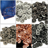 Jeans Rivets 7mm Fasteners with Alloy Pins for Bag Denim Leather 10pcs to 500pcs