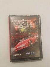 Turbo Esprit juego para Spectrum version Española