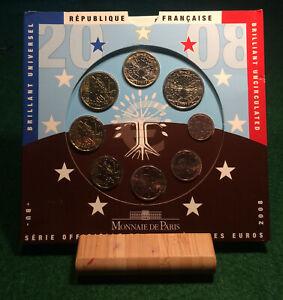 FRANCE - 2008 EURO COINS SET BU