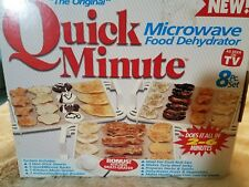 Quick Minute Microwave Food Dehydrator 8 Pc.Set New