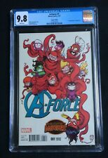 A-Force #1 Skottie Young Variant Cover CGC 9.8 2138742010