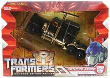 Transformers  BLACK OPTIMUS PRIME  Limited Edition figure, KO?,some wear