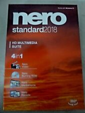 Nero 2018 Standard [Classic] for Windows - Brand New with Free Ship