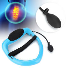 Inflatable Cervical Collar Neck Relief Traction Brace Support Stretcher Device