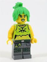 LEGO NINJAGO ELEMENTAL MASTER POISON TOX TOXIKITA MINIFIGURE 70169 - NEW GENUINE