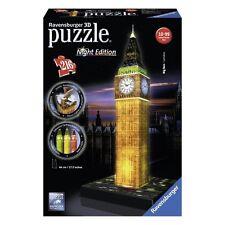 PUZZLE 3D EMPIRE IL BIG BEN LONDRA EDITION LED 216 PEZZI RAVENSBURGER 12588