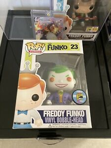 Freddy Funko Pop! The Joker Sdcc 2013 #23 1/200 Extremely Rare! Mint!