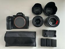 Sony Alpha A7 II 24.3MP Digital Camera - Black with 2 Sony Prime Lenses + MORE